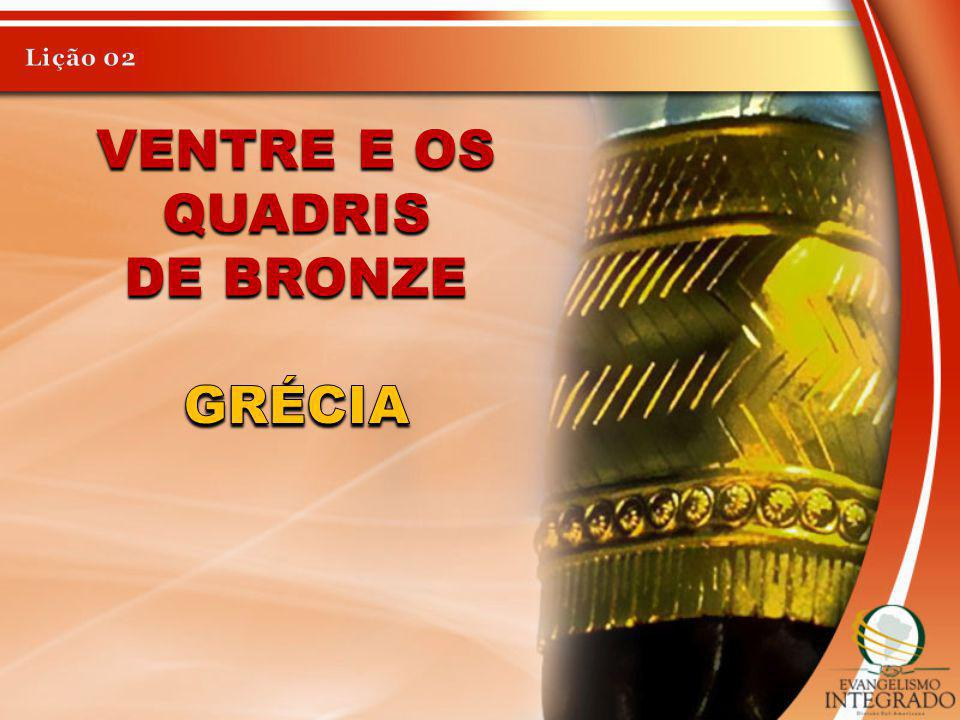 Lição 02 Ventre e os quadris de bronze Grécia