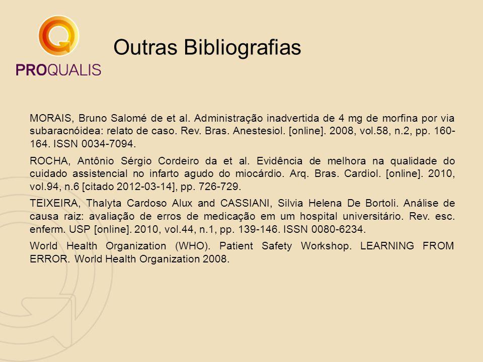 Outras Bibliografias