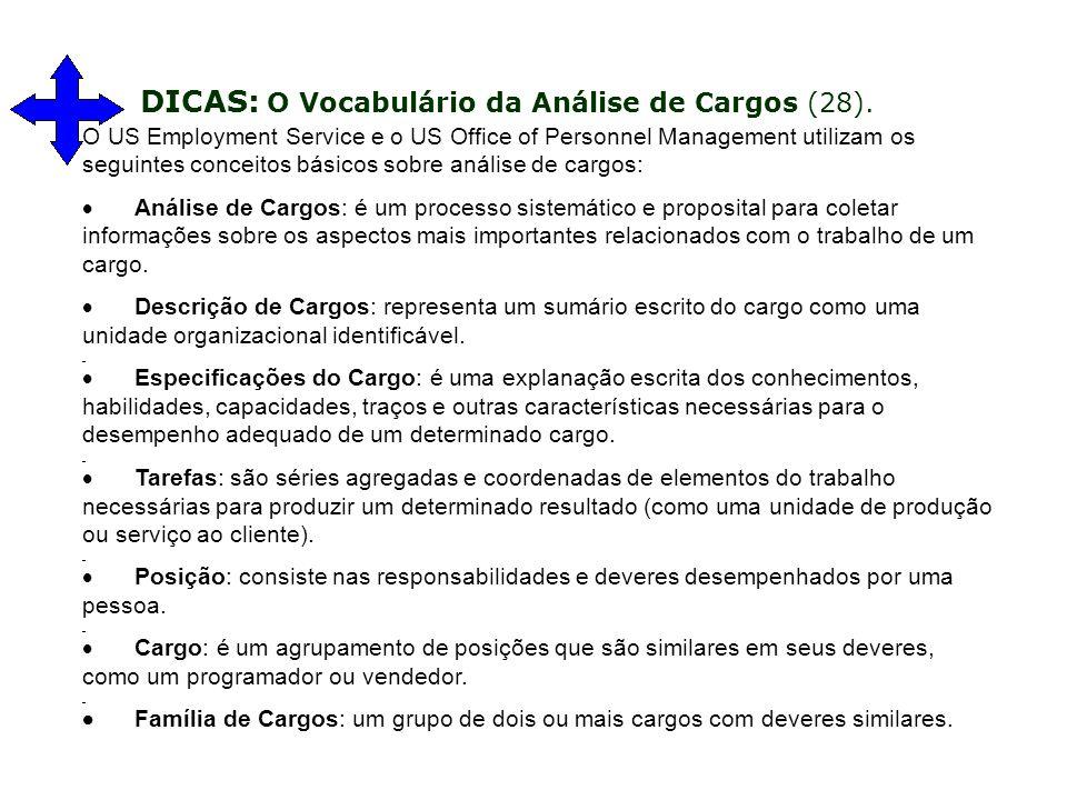 DICAS: O Vocabulário da Análise de Cargos (28).