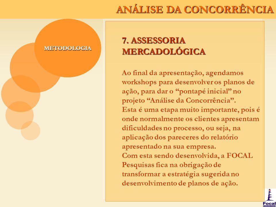 7. ASSESSORIA MERCADOLÓGICA