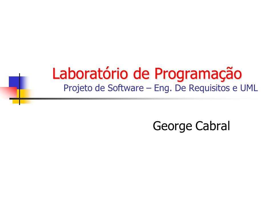 Laboratório de Programação. Projeto de Software – Eng