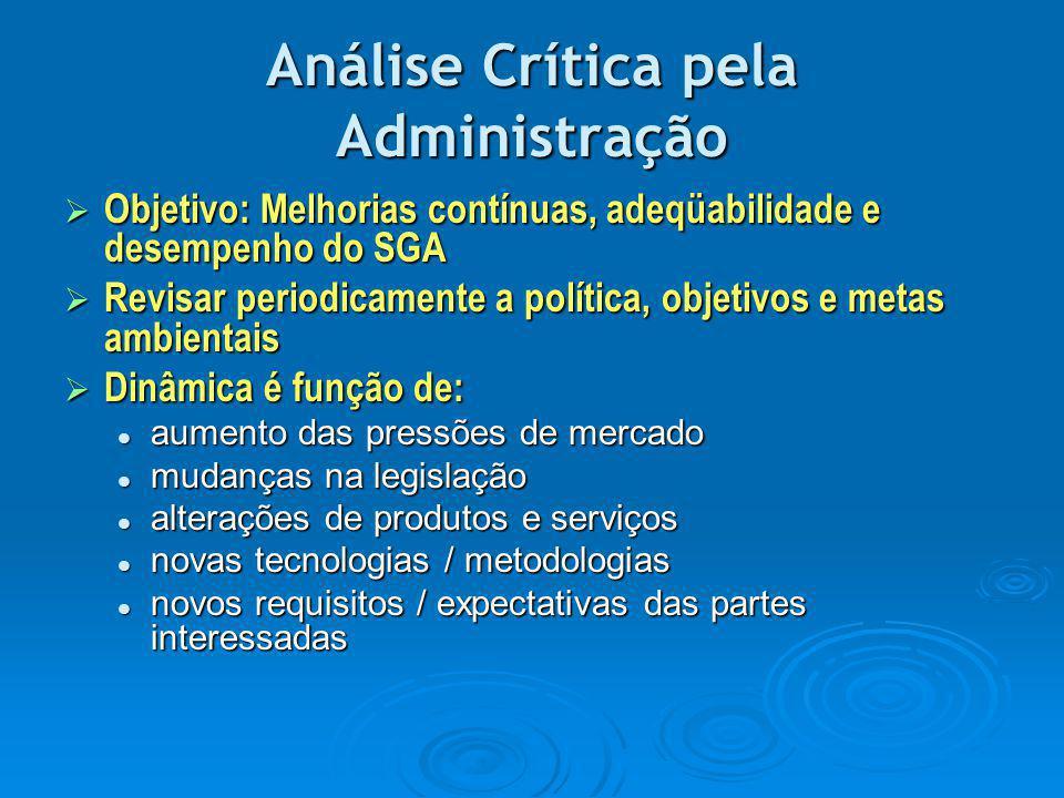 Análise Crítica pela Administração