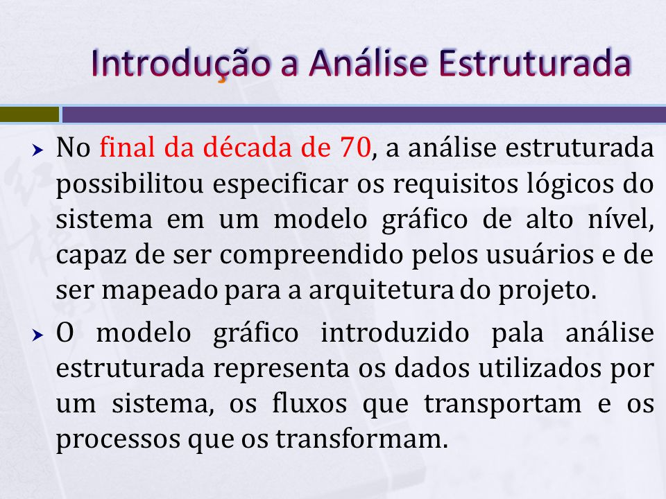 Introdução a Análise Estruturada
