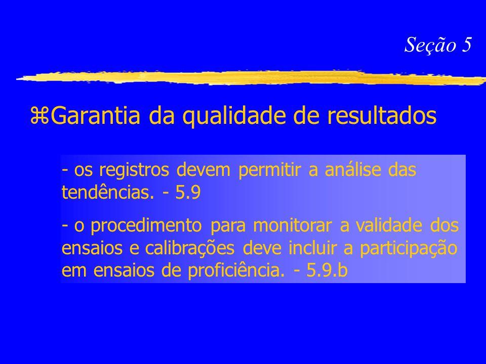 Garantia da qualidade de resultados