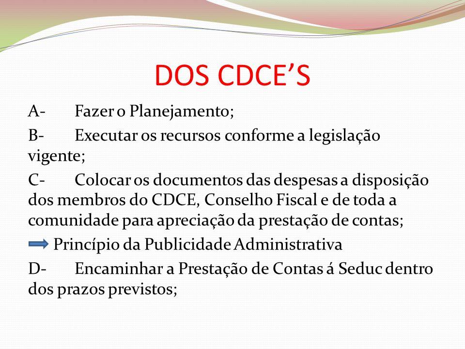 DOS CDCE'S