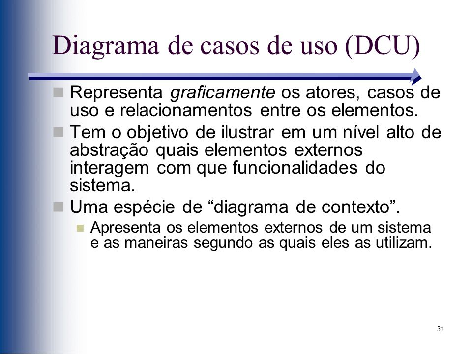 Diagrama de casos de uso (DCU)