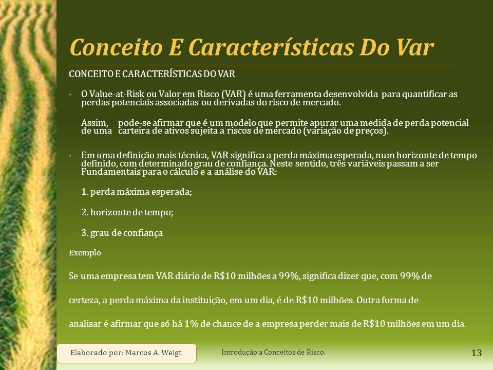 Conceito E Características Do Var