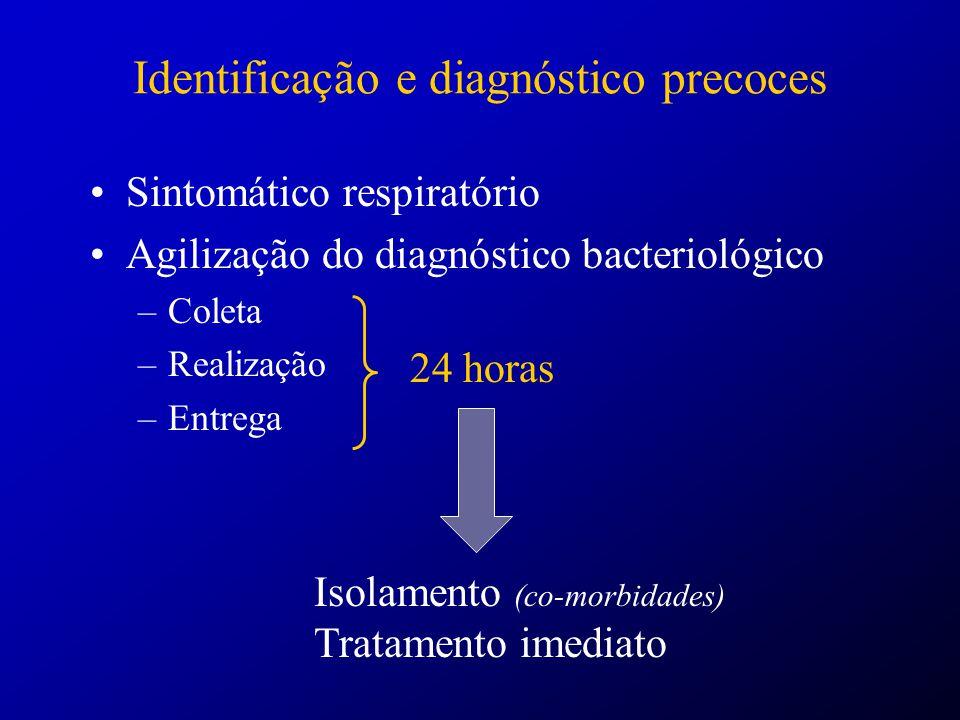 Identificação e diagnóstico precoces