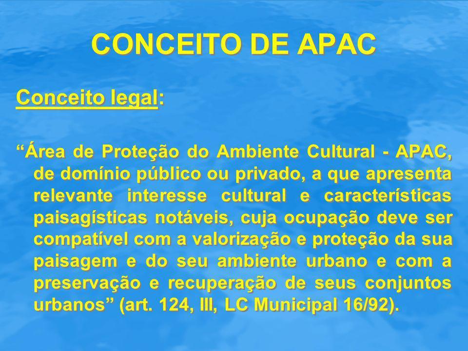 CONCEITO DE APAC Conceito legal: