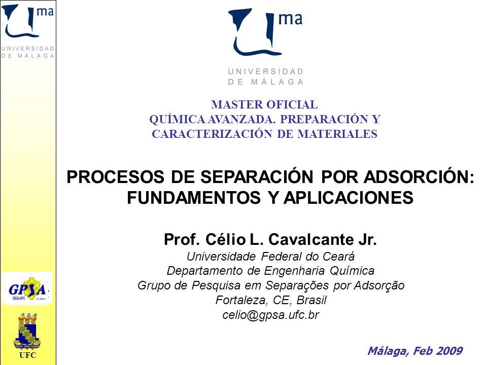 PROCESOS DE SEPARACIÓN POR ADSORCIÓN: FUNDAMENTOS Y APLICACIONES