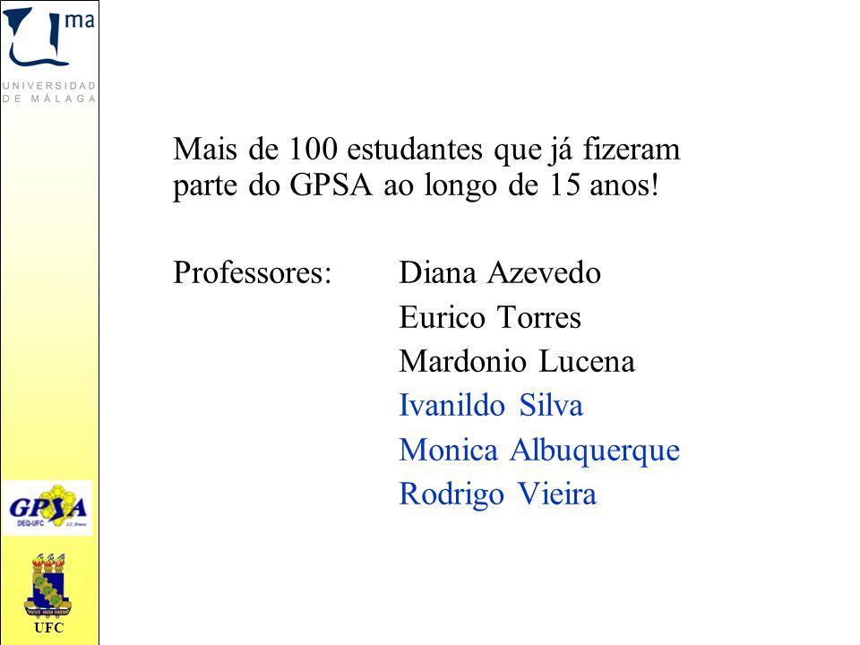 Mais de 100 estudantes que já fizeram parte do GPSA ao longo de 15 anos!