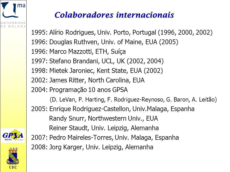 Colaboradores internacionais