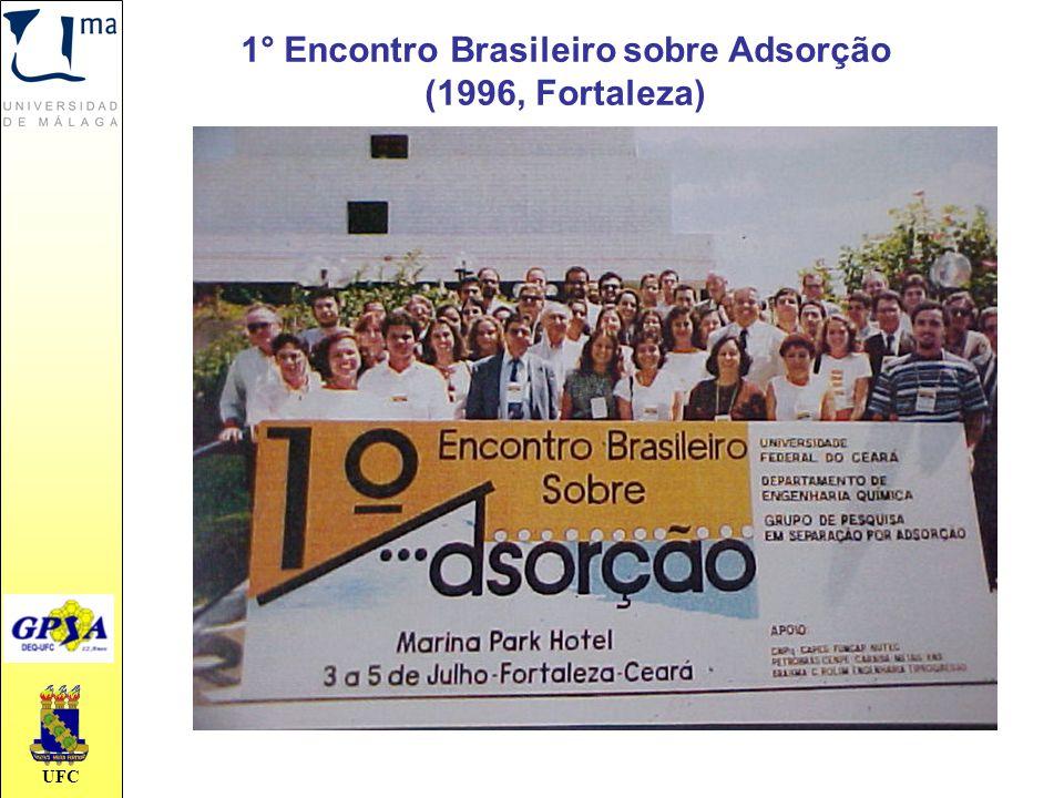 1° Encontro Brasileiro sobre Adsorção (1996, Fortaleza)