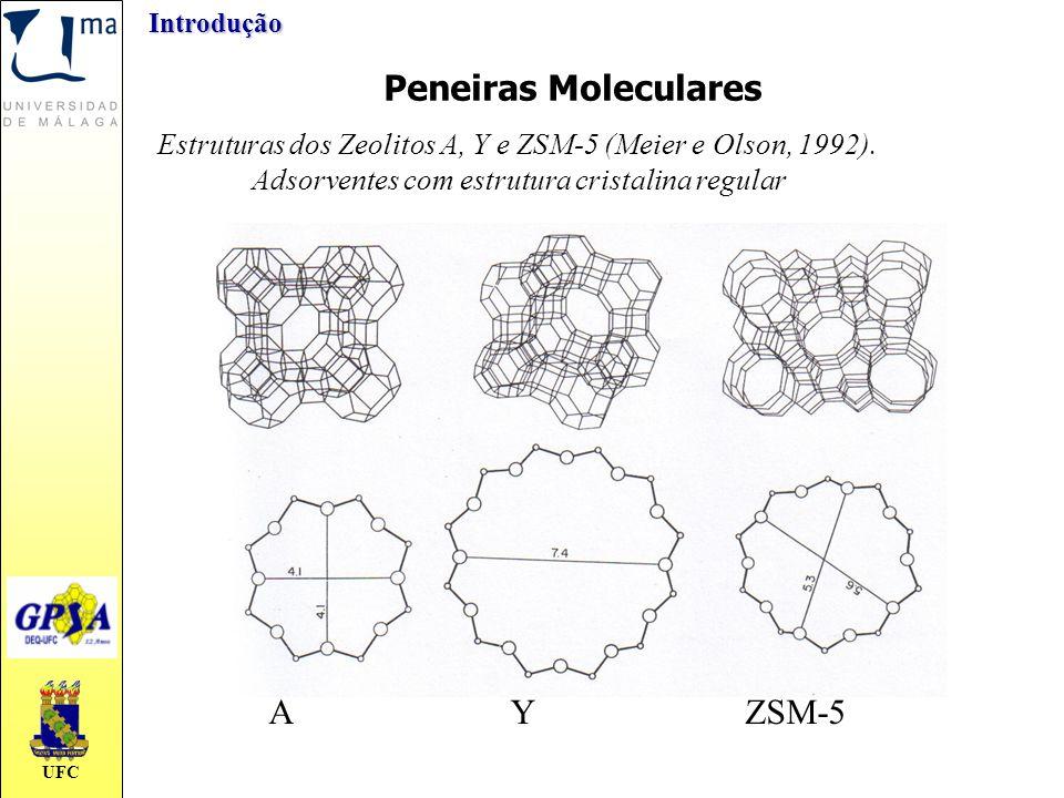 Peneiras Moleculares A Y ZSM-5