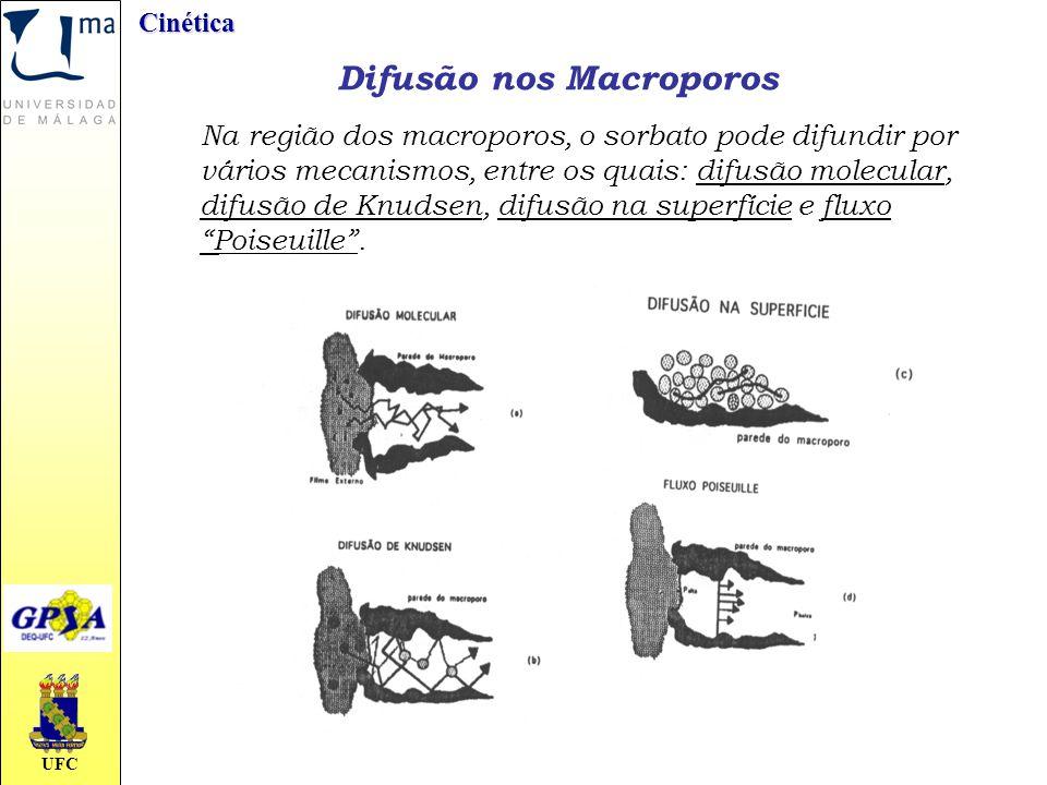 Difusão nos Macroporos