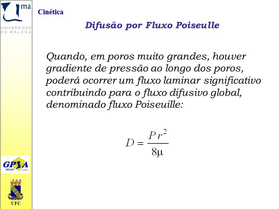 Difusão por Fluxo Poiseulle
