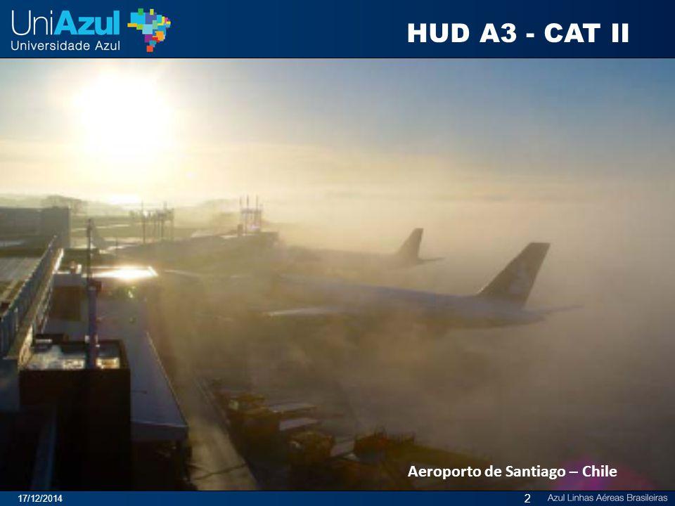 HUD A3 - CAT II Aeroporto de Santiago – Chile 07/04/2017