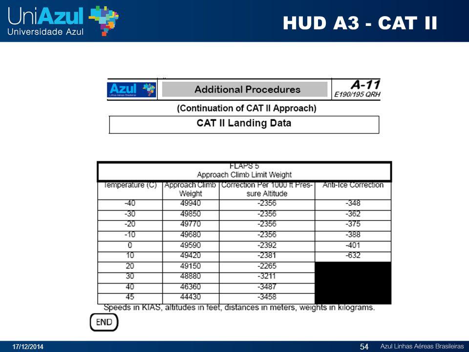HUD A3 - CAT II 07/04/2017