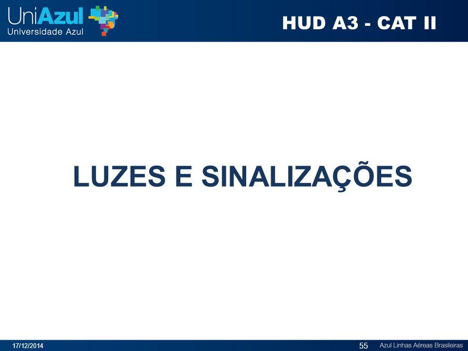 HUD A3 - CAT II LUZES E SINALIZAÇÕES 07/04/2017
