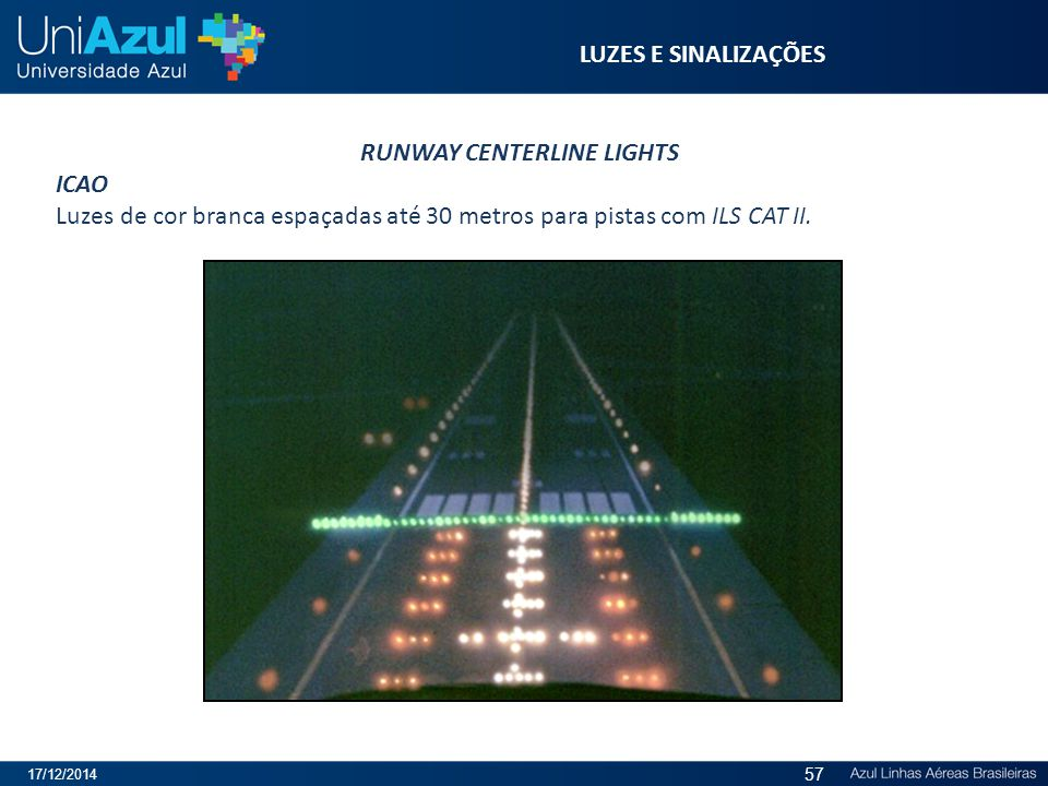 RUNWAY CENTERLINE LIGHTS