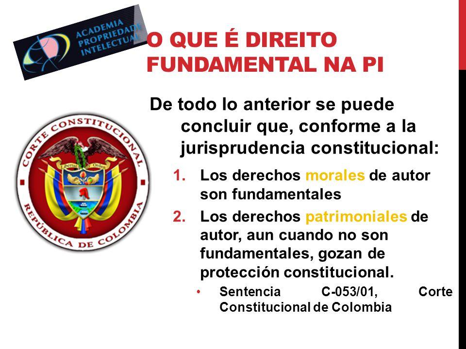 O que é direito fundamental na PI
