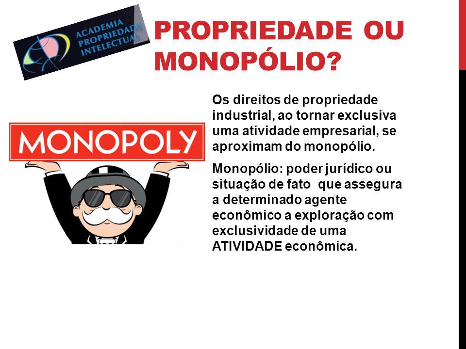 Propriedade ou monopólio
