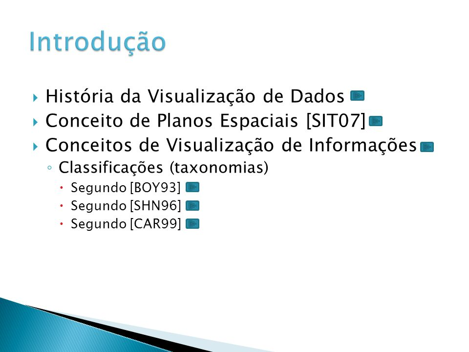 Introdução História da Visualização de Dados