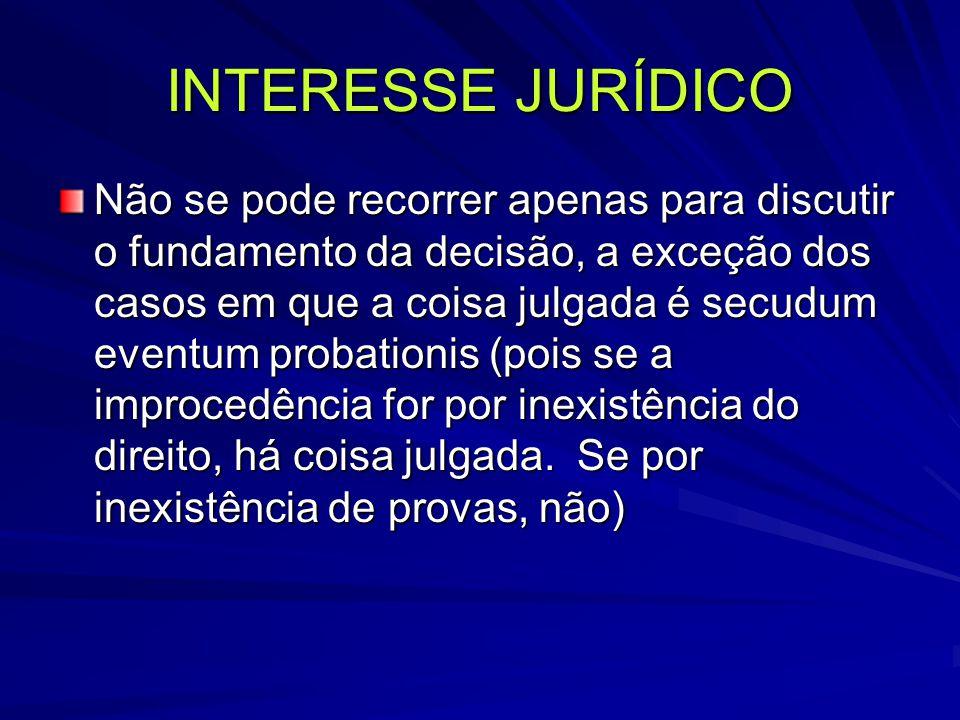 INTERESSE JURÍDICO