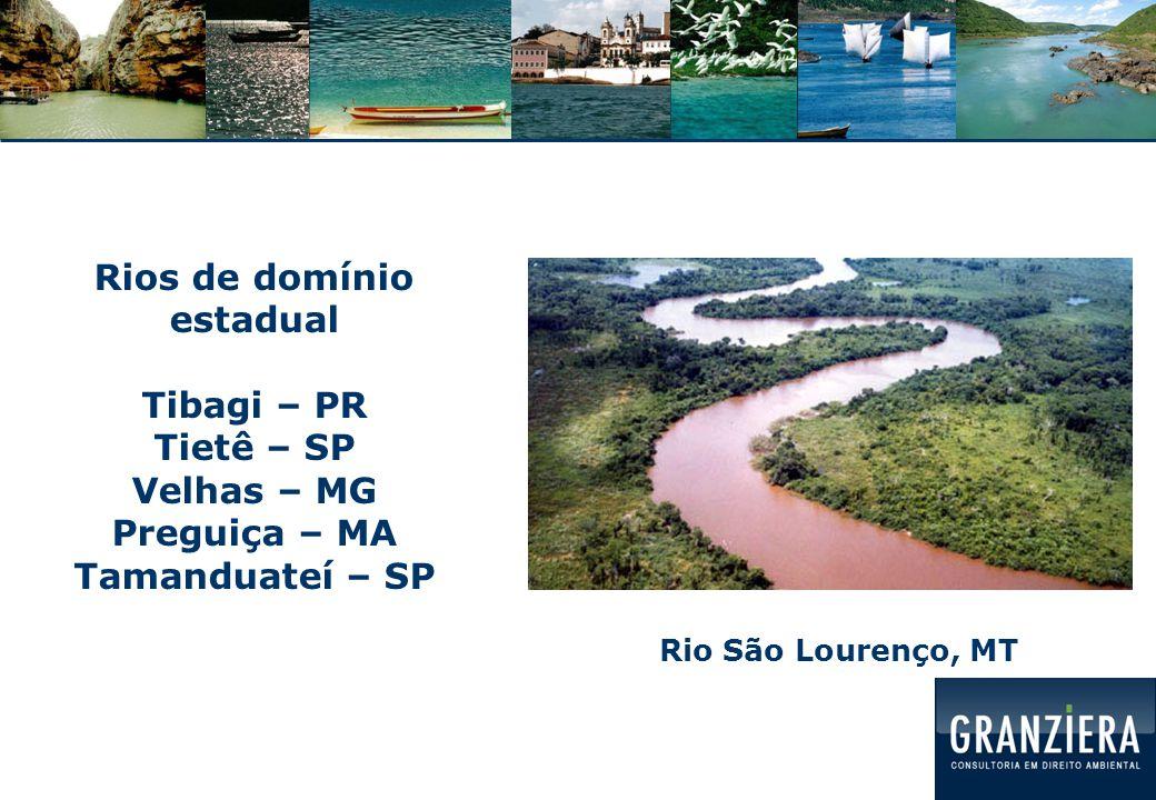 Rios de domínio estadual