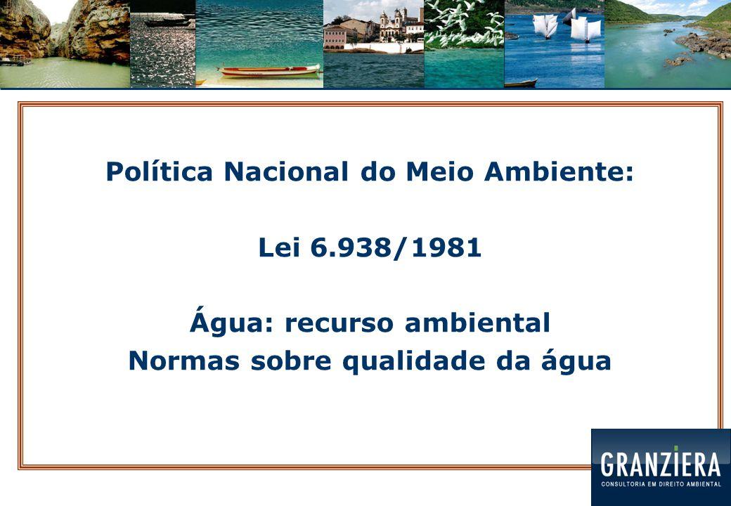 Política Nacional do Meio Ambiente:
