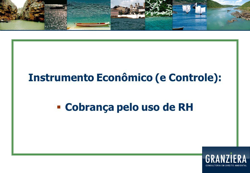 Instrumento Econômico (e Controle):