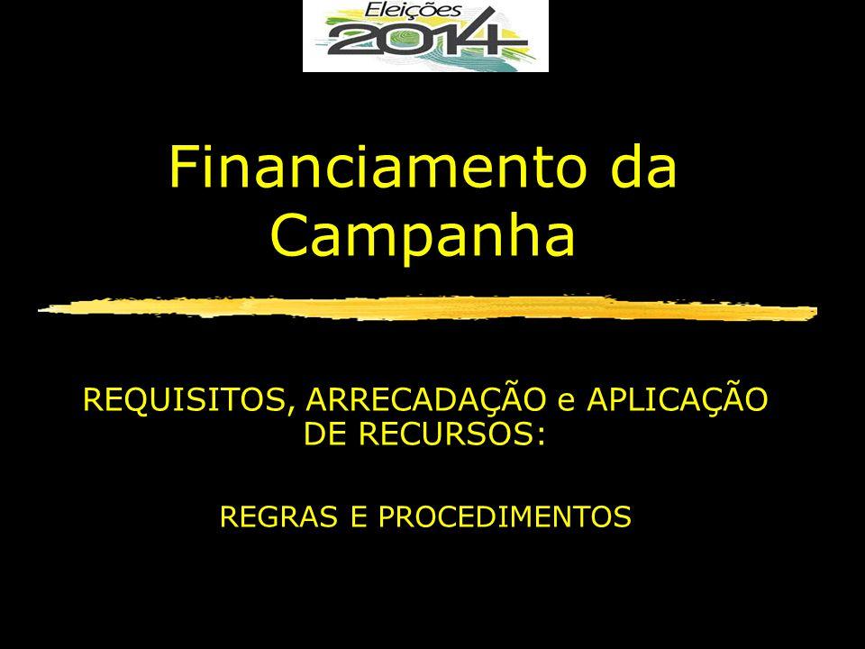 Financiamento da Campanha