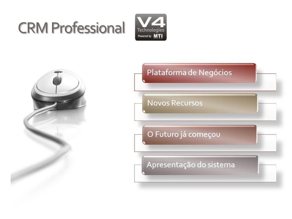 CRM Professional Plataforma de Negócios Novos Recursos