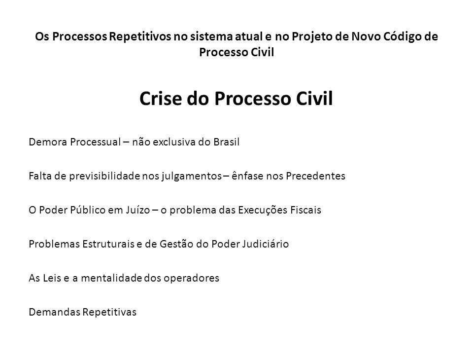 Crise do Processo Civil