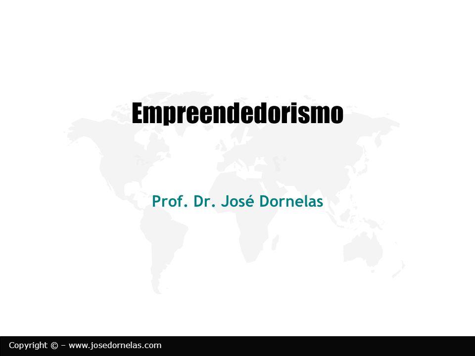 Empreendedorismo Prof. Dr. José Dornelas