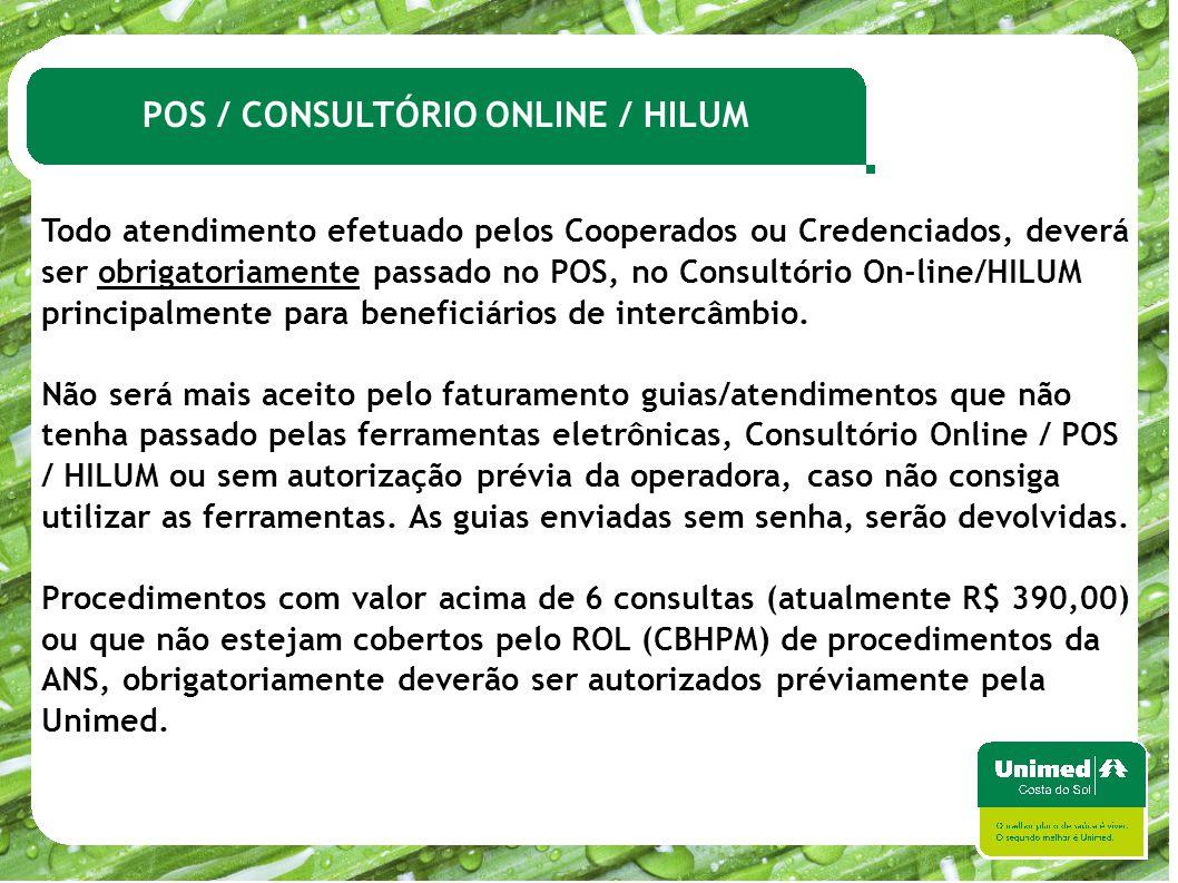 POS / CONSULTÓRIO ONLINE / HILUM