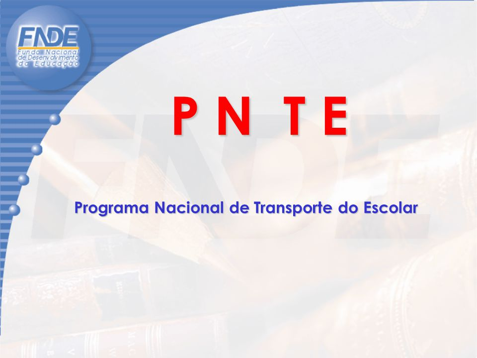 Programa Nacional de Transporte do Escolar