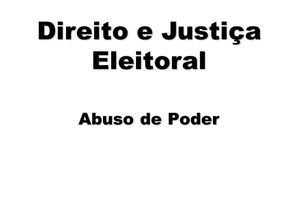 Direito e Justiça Eleitoral