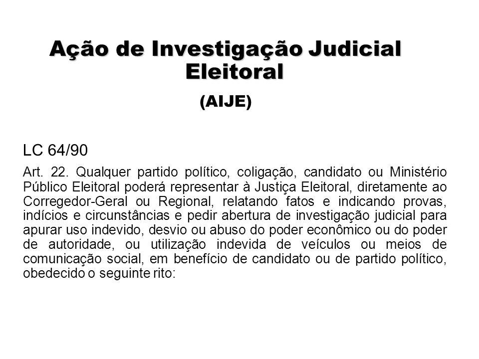 Ação de Investigação Judicial Eleitoral