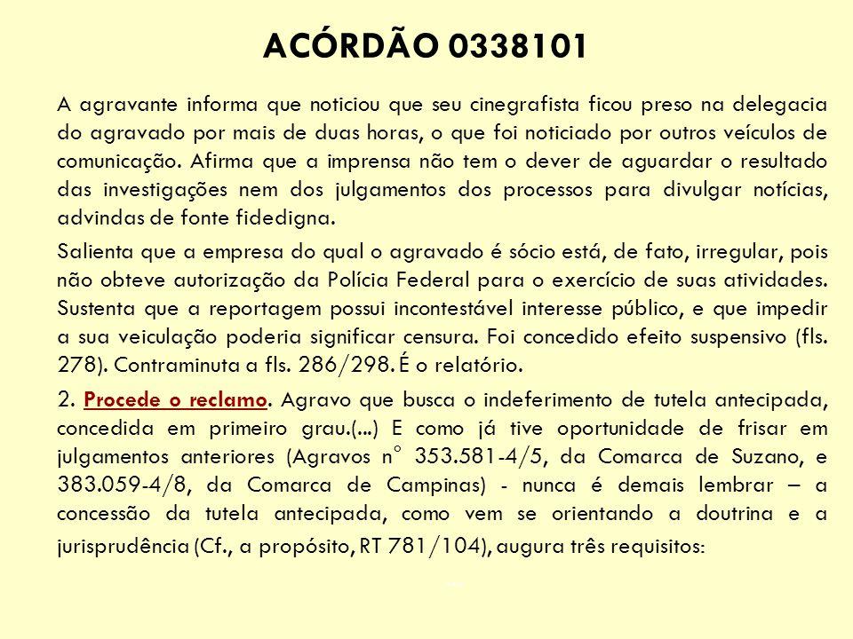 ACÓRDÃO 0338101