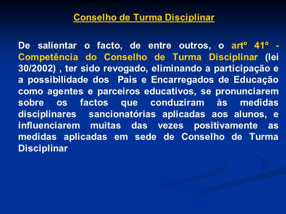 Conselho de Turma Disciplinar