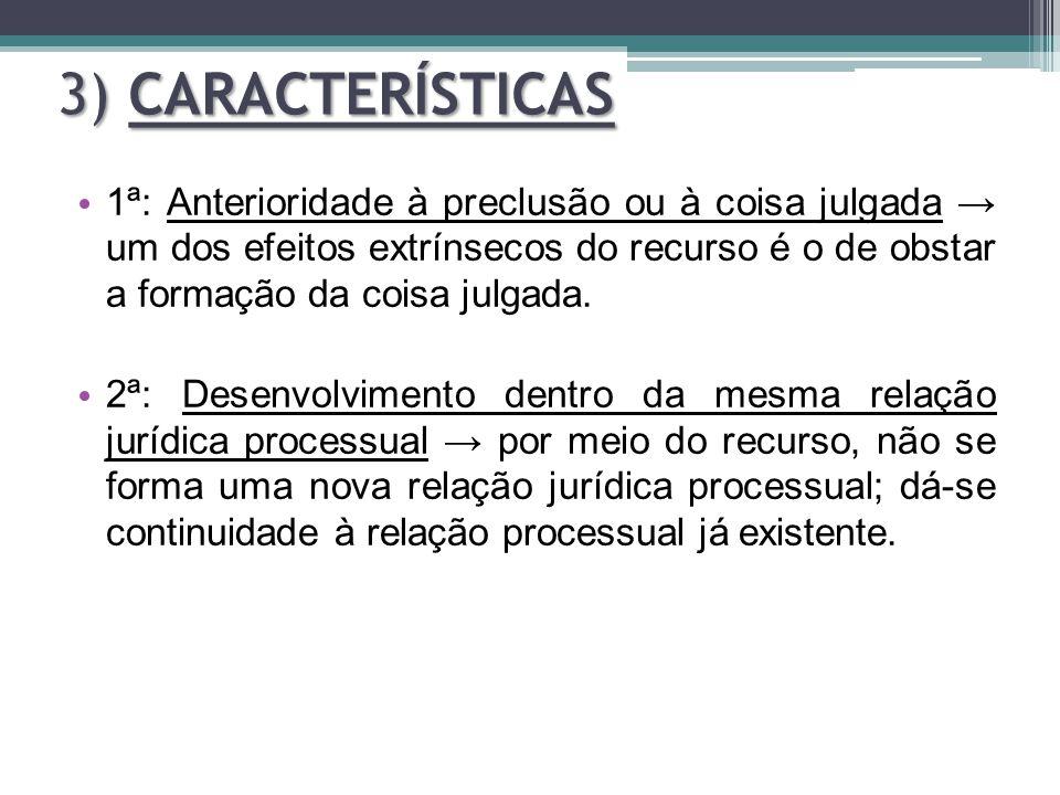 3) CARACTERÍSTICAS