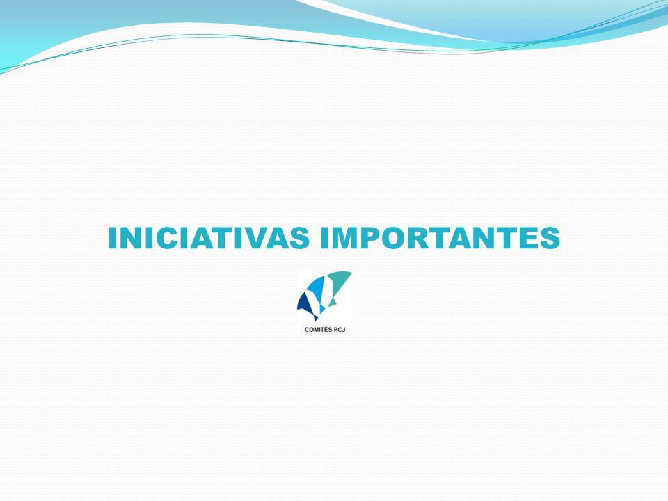INICIATIVAS IMPORTANTES
