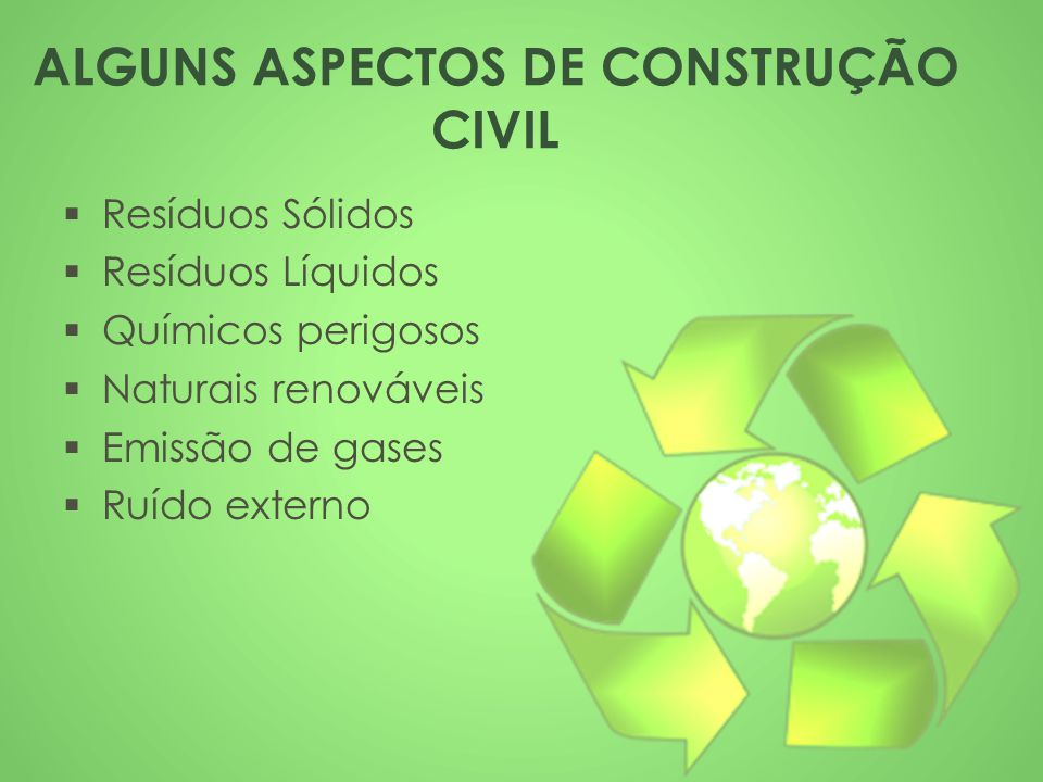 ALGUNS ASPECTOS DE CONSTRUÇÃO CIVIL