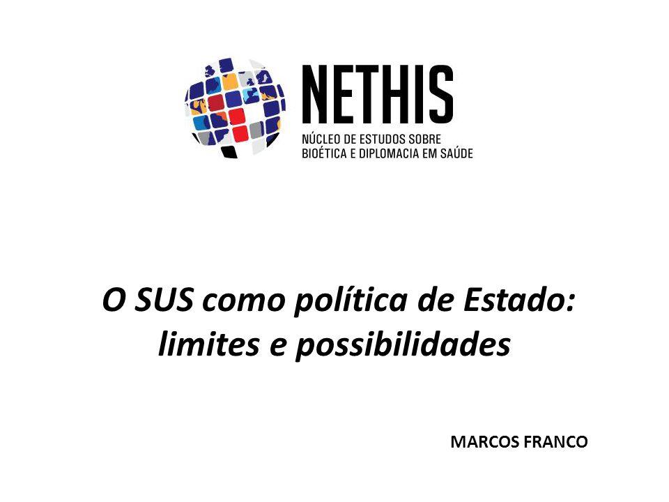O SUS como política de Estado: limites e possibilidades