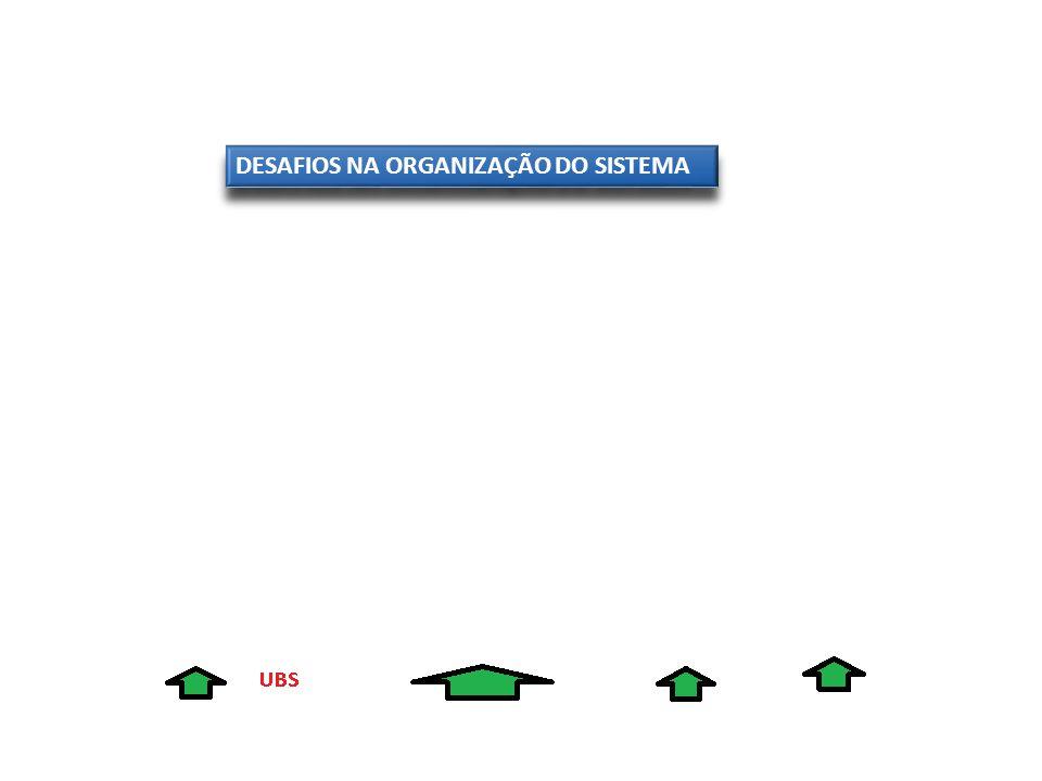 DESAFIOS NA ORGANIZAÇÃO DO SISTEMA