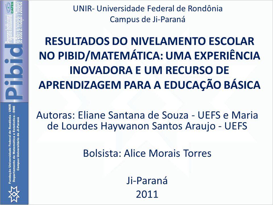 UNIR- Universidade Federal de Rondônia