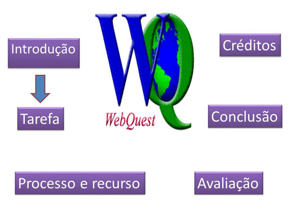 Créditos Introdução Conclusão Tarefa Processo e recurso Avaliação
