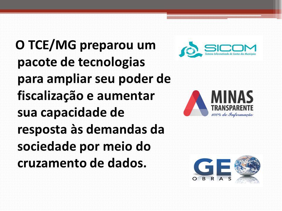 O TCE/MG preparou um pacote de tecnologias para ampliar seu poder de fiscalização e aumentar sua capacidade de resposta às demandas da sociedade por meio do cruzamento de dados.