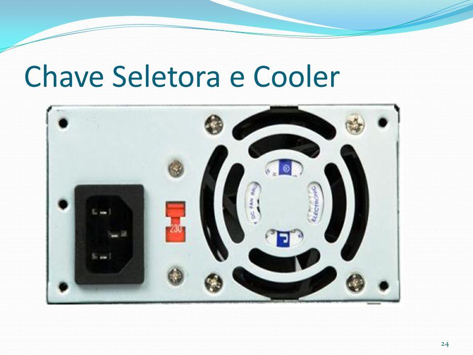 Chave Seletora e Cooler